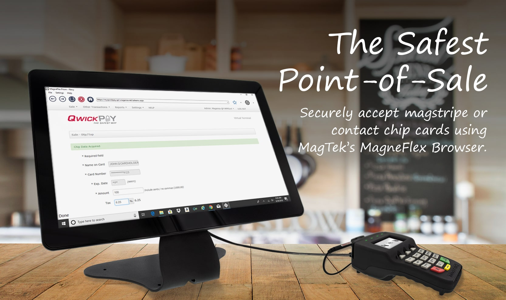 QwickPAY The Safest Point-of-Sale